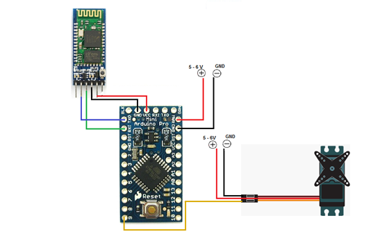 1001 free electronics projects & ideas for engineers  wireless biometric lock using arduino · 1001 electronics projects