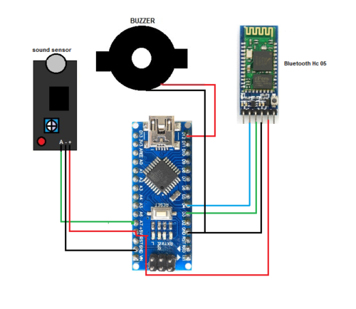 Noise Detector with Automatic Recording System Using Arduino