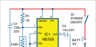 Toy Organ Circuit Diagram
