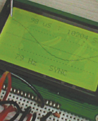 Graphical LCD Scope