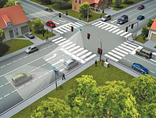 Adaptive traffic-control system
