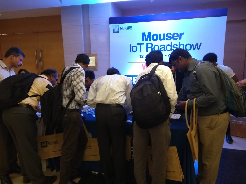 Chennai Edition of Sold-out Mouser IOT Roadshow 2019