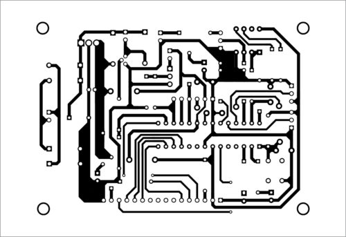 PCB layout of appliance guard