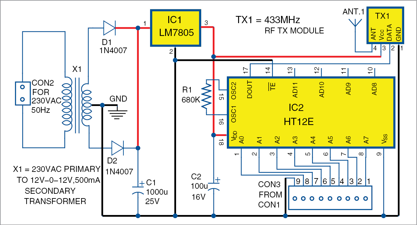 Simple Water Level Controller Circuit With Over Voltage And Under