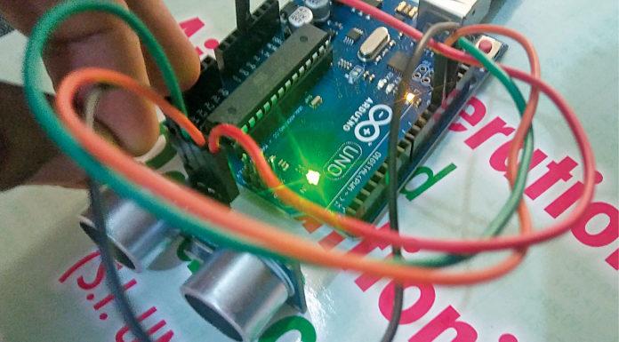 distance meter prototype