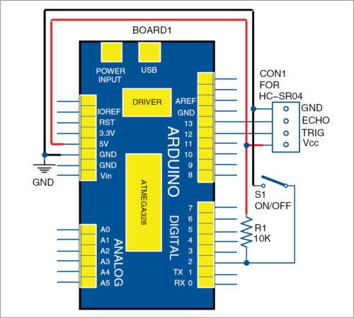 Arduino-based distance meter