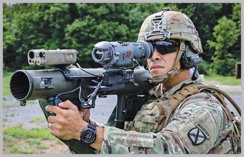 Modern warfare with latest aiming technology