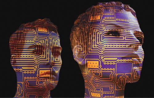 Representation of an AI robot