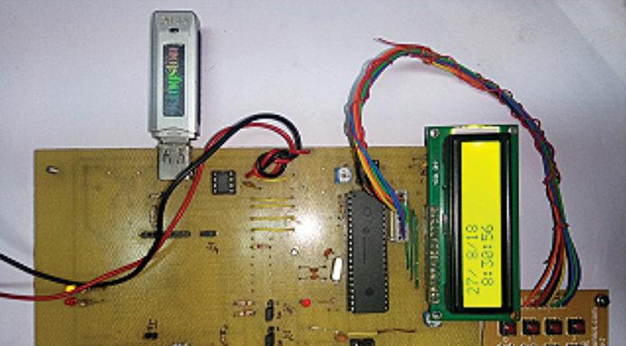 USB Data Logging System
