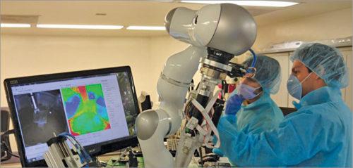 An autonomous robot surgery