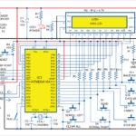 Circuit Diagram of Serial Data Debugger